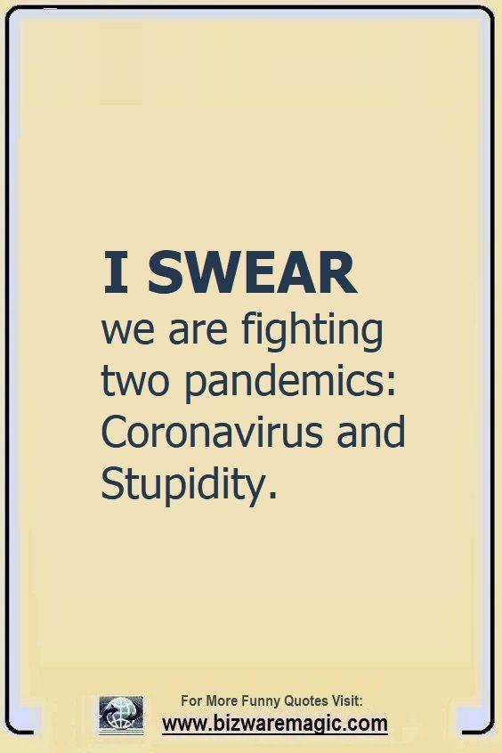 BizwareMagic's COVID-19  Quotes, Jokes & Memes
