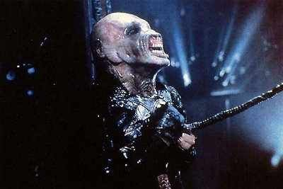 Hellraiser 2 - Chatterer being attacked by the Dr. Channard cenobite.