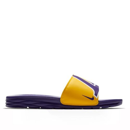 fa1a2cfcf7b0 Klapki Nike Benassi Solarsoft NBA LA Lakers - 917551-700 - Basketo.pl