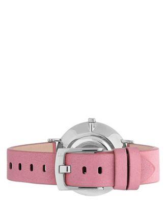 09614e2dc8 Furla Women's Giada Butterfly Pink Dial Calfskin Leather Watch - Pink