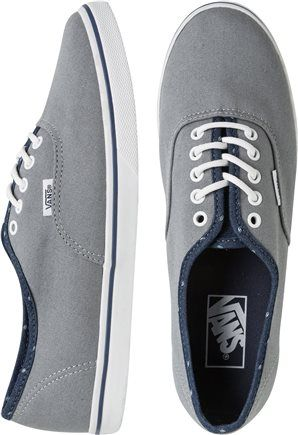 Gift ideas for him:  VANS AUTHENTIC LO PRO SHOE for just $44.95.