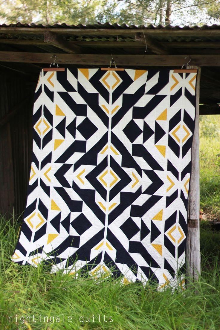 Modern Patchwork Quilt Patterns Free : Inspiring