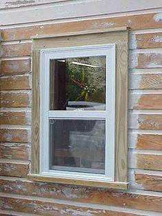 Emejing Installing Exterior Window Trim Images - Amazing House ...