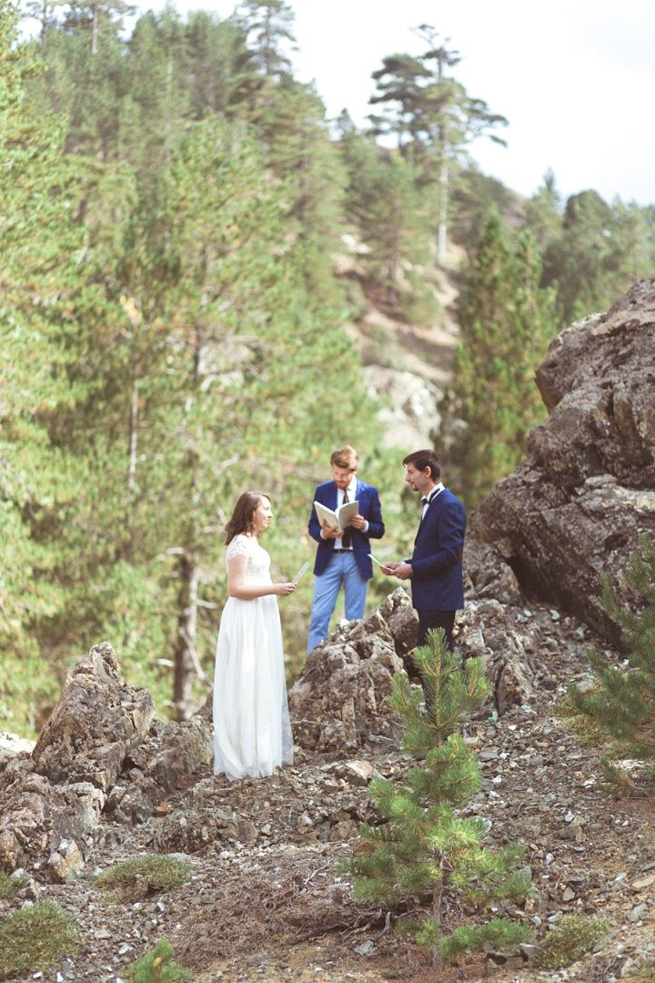 Wedding vow renewal | fabmood.com #weddingvow #vowrenewal