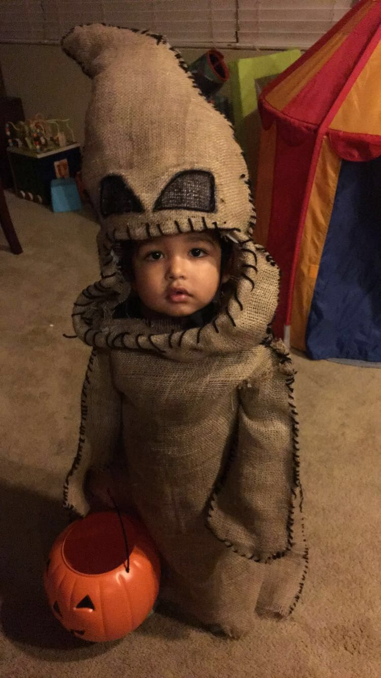 The nightmare before Christmas costume, Oogie boogie toddler costume ...