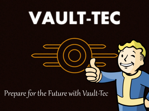 Remember if it doesn't say Vault-Tec it isn't guaranteed to be safe. Do you really want your life in someone else's hands?