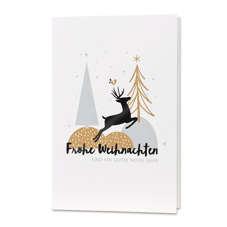 moderne weihnachtskarte top. Black Bedroom Furniture Sets. Home Design Ideas