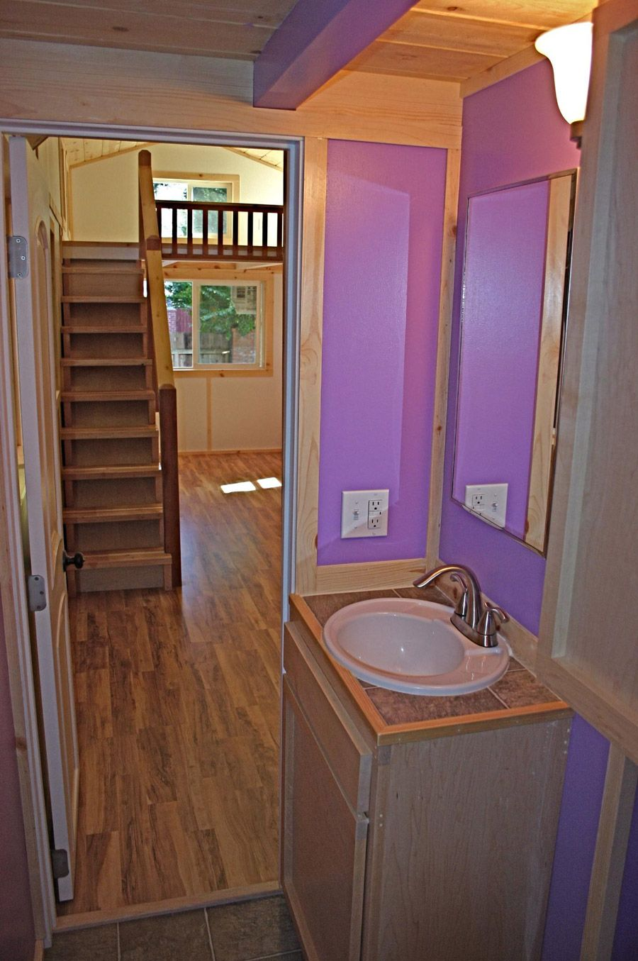 Tiny houses on wheels for sale california - A 355 Square Feet Tiny House On Wheels In Felton California Designed By Molecule Tiny Homes