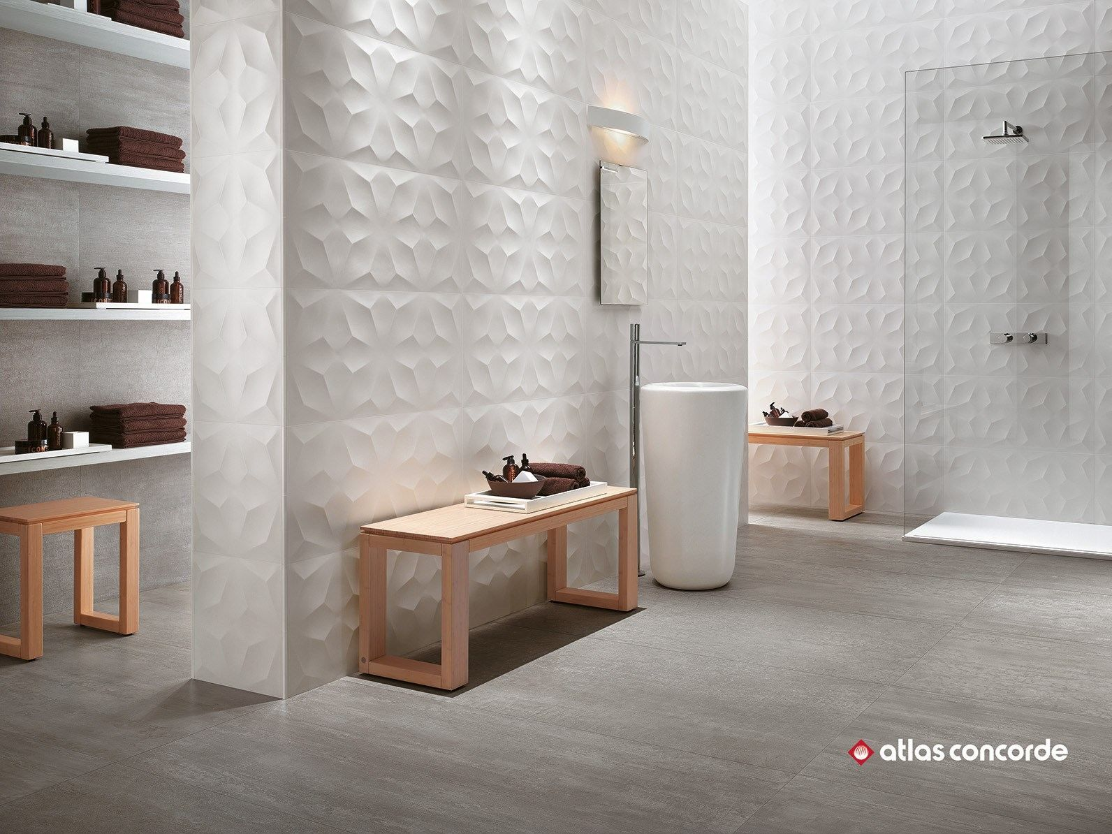 Download The Catalogue And Request Prices Of 3d Wall Design Diamond By Atlas Concorde White Paste 3d Wall Clad Wall Design White Wall Tiles Ceramic Wall Decor