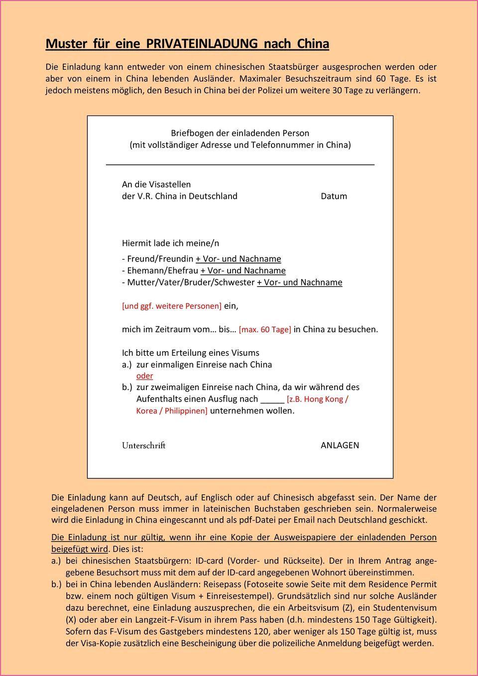 Einladungsschreiben Visum Deutschland Muster Privat In 2020 Einladung Schreiben Visum Deutschland Einladungen