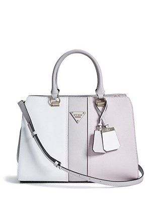 Women Bags Guess COOPER Handbag brown,guess leather
