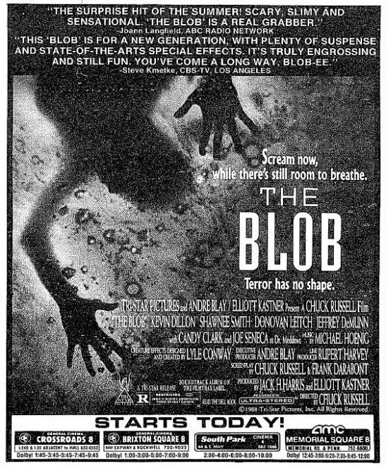 Pin on Horror Movie Matte/Newspaper ads