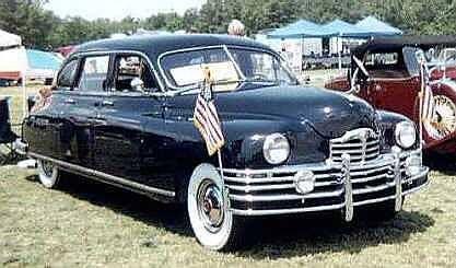 1948 Packard Limousine. www.romanworldwide.com #orangecountylimo #lacountylimo #247limo