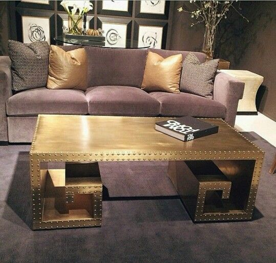 Ikea Hack Lack Coffee Table And Side Table Tacks Gold Paint