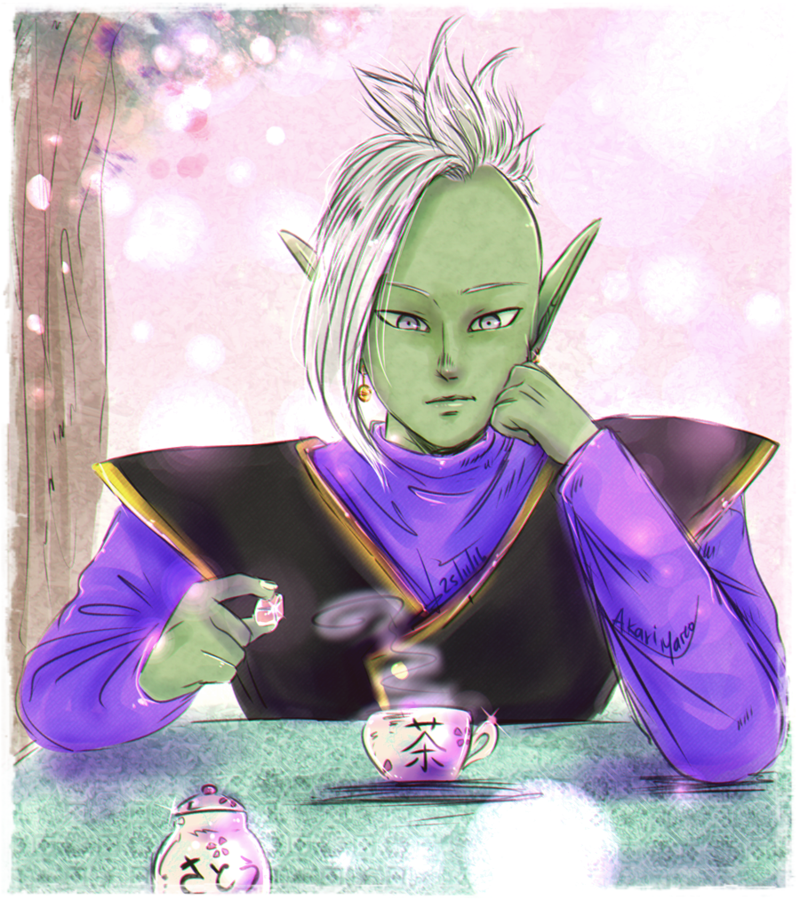 Tea time by AkariMarco