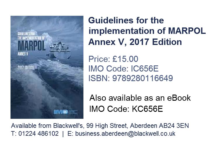 Guidelines for the implementation of marpol annex v 2017 edition guidelines for the implementation of marpol annex v 2017 edition ic656e isbn 9789280116649 fandeluxe
