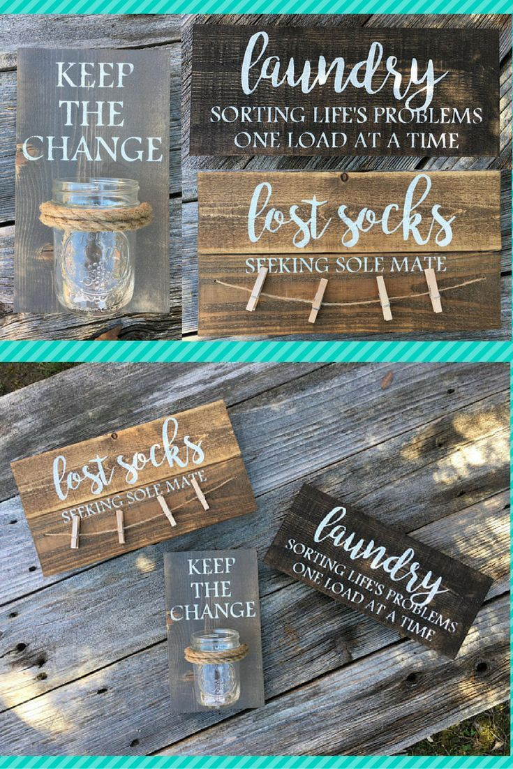Laundry Room Signs Keep The Change Lost Socks Rustic Wooden Signs Seeking Sole Mate Christ Wooden Laundry Signs Laundry Room Signs Fall Thanksgiving Decor