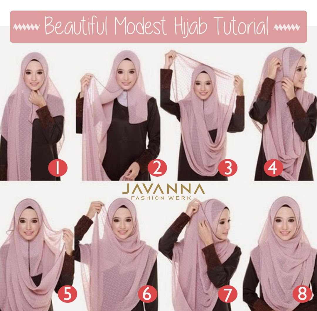 Tutorial Hijab Fashion Hijab Pinterest Hijabs And Tutorials