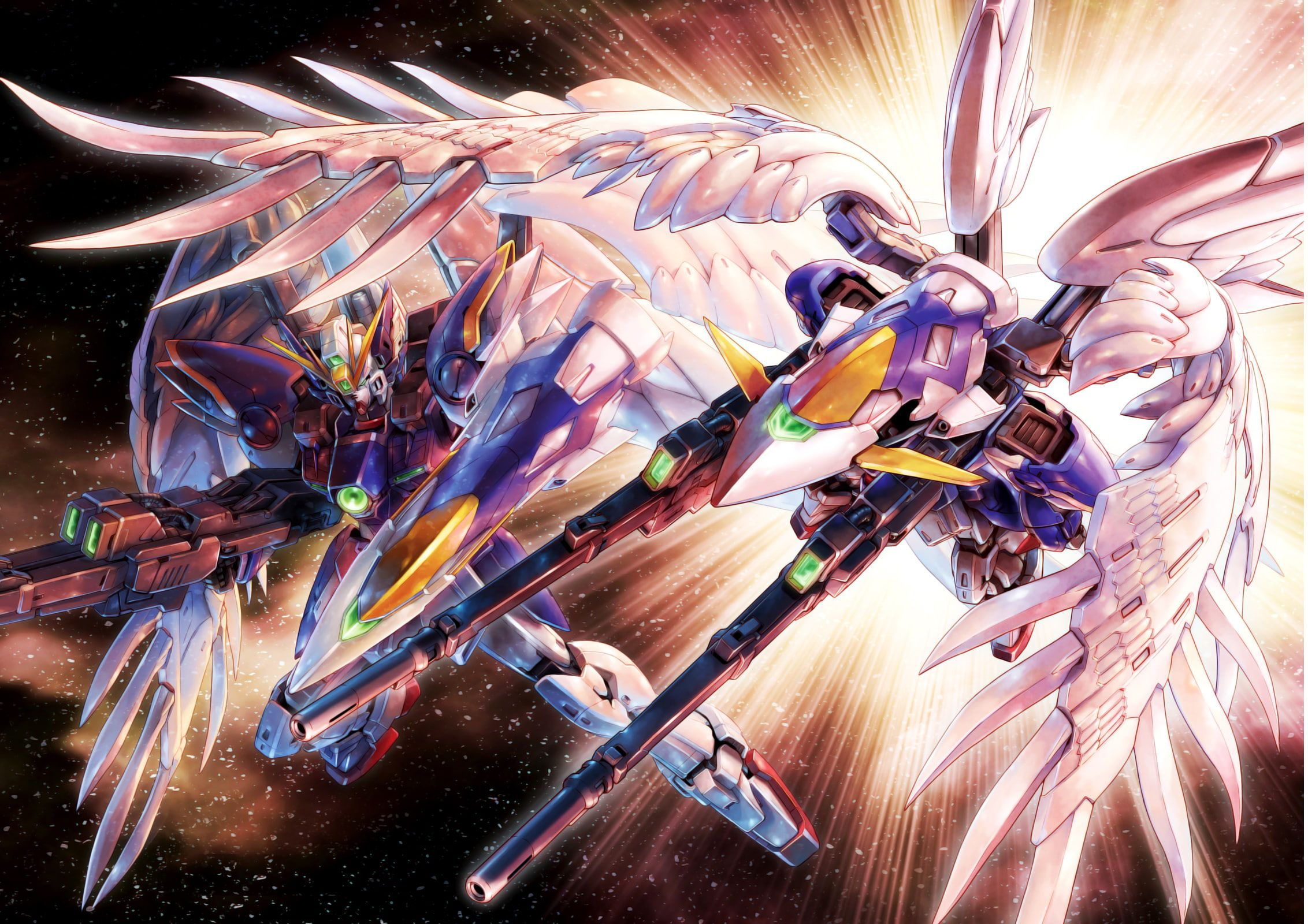Anime Mobile Suit Gundam Wing 1080p Wallpaper Hdwallpaper Desktop In 2020 Mobile Suit Gundam Wing Gundam Wing Gundam Art