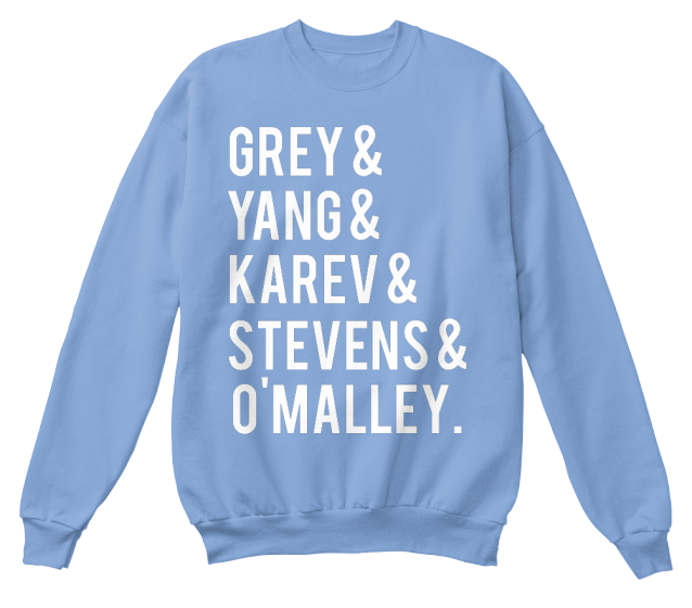 Throwback Greys Anatomy Cast! | Teespring | Outfit | Pinterest ...
