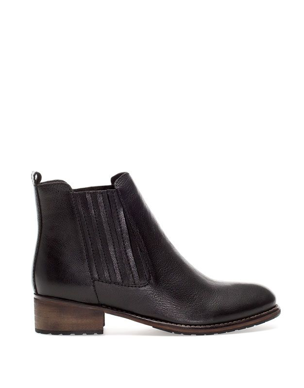 Products New Diseño Pull Ankle Boots Woman Leather Romania FHnROt