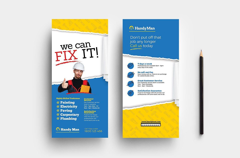 Handyman Templates Pack Card Template Templates Business Card Logo