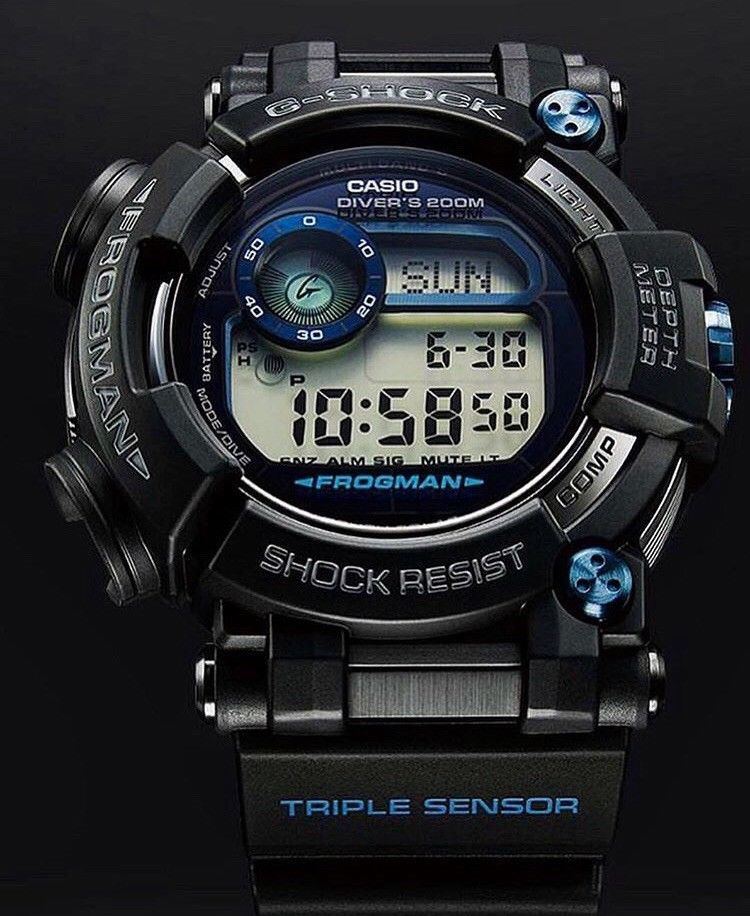 82a465129a6 Casio G-Shock Frogman Mens Watch