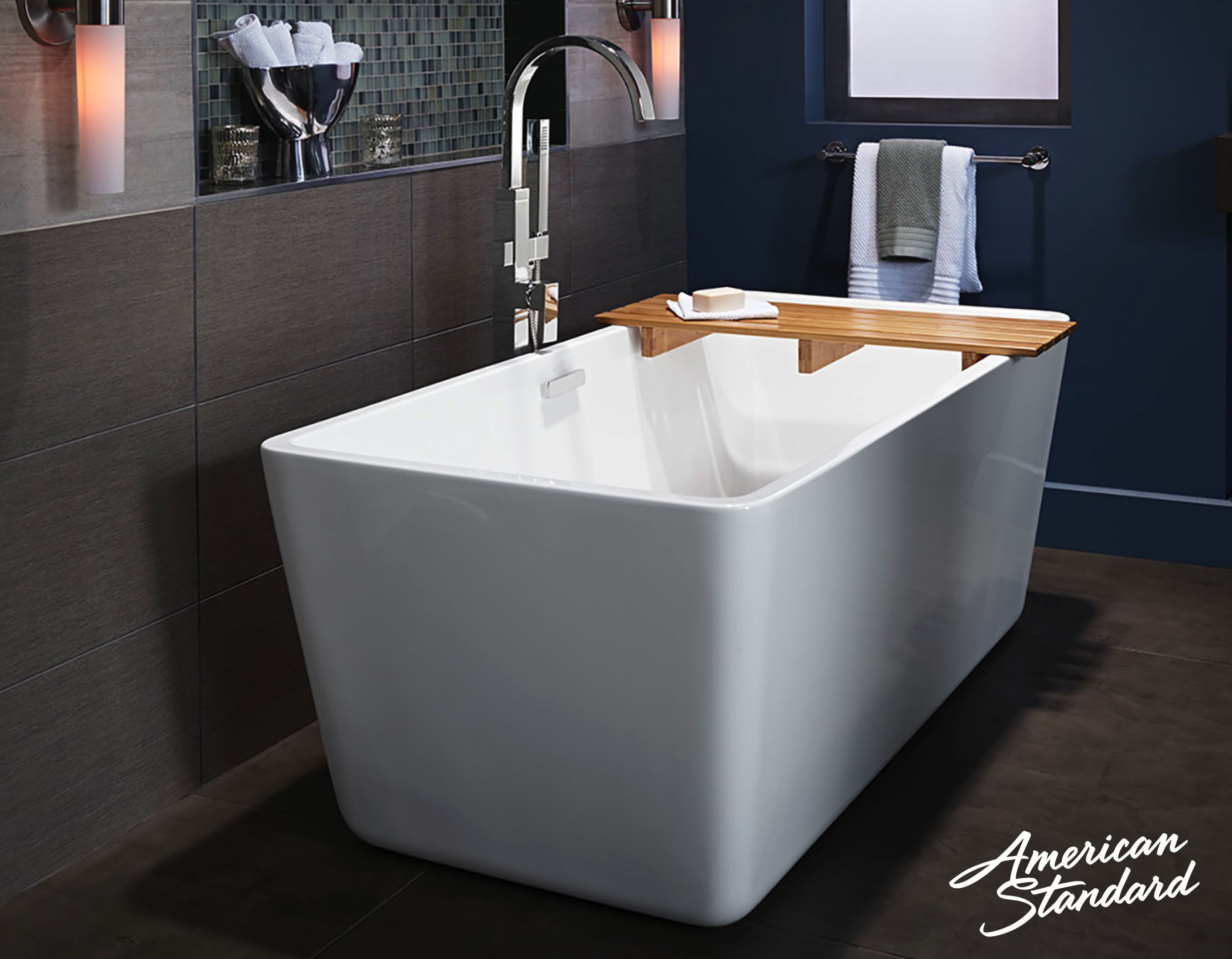 The Perfect Complement To A Contemporary Bathroom A New American