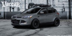Escape To Sema Two Customized 2013 Ford Escapes To Debut At Sema