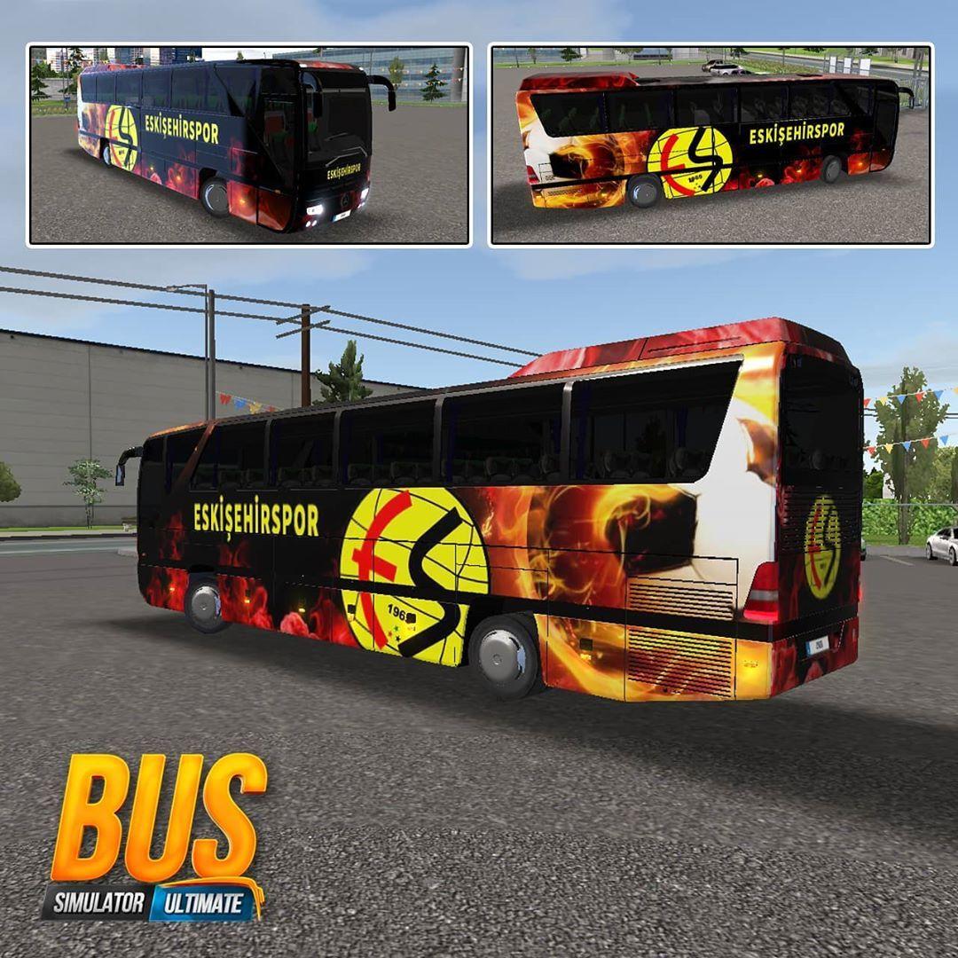Eskisehirspor Skin Bus Simulator Ultimate Download Indir Www Ersincaki Net Bussimulatorultimate Bussimulator Bus Konsep Mobil Truk Besar Mobil Modifikasi