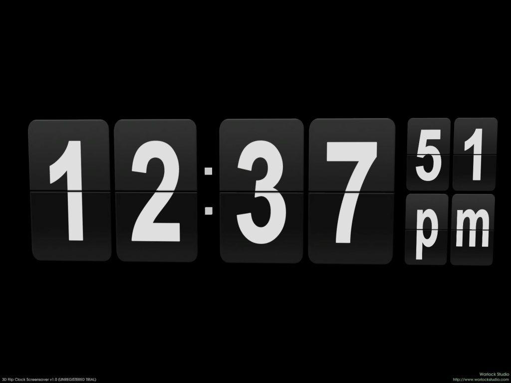 Digital Clock-7 2 02 Free Download | udd | Digital clocks