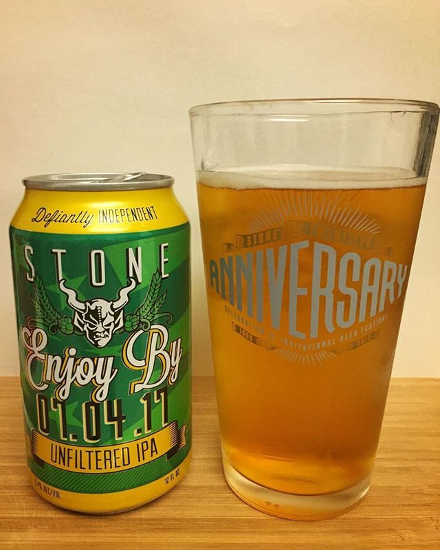 One of my all-time favorites! If I had a top 10 list, (which I don't 😜) this beer series would be right up there! Cheers!🍻 . . . . . #beerstagram #instabeer #instagood #craftbeer #sandiego #sandiegobeer #craftnotcrap #stonebrewing #enjoyby #unfiltered #ipa #sandiegocraftbeer #beer #beerme #cheers #westcoastipa #sandiego #sandiegoconnection #sdlocals #sandiegolocals - posted by Rob https://www.instagram.com/beermesd. See more San Diego Beer at http://sdconnection.com