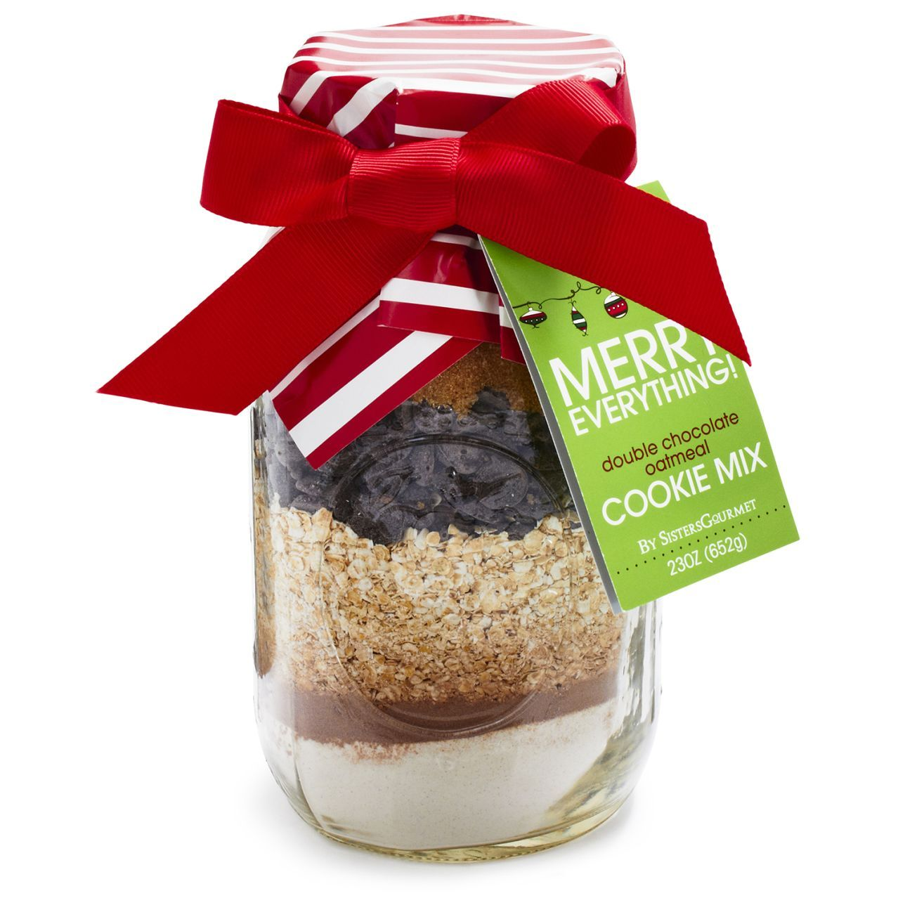 sisters gourmet merry everything cookie mix sur la table
