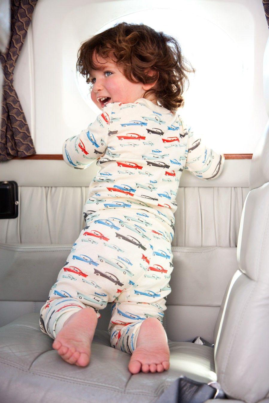 Cars Long Sleeves Pajamas little boy feet