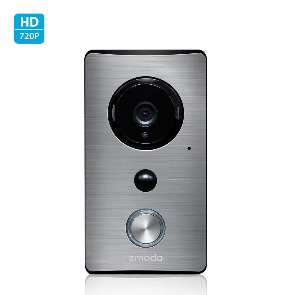 Zmodo Greet 720p Smart WiFi Video Doorbell W/ 145 Wide