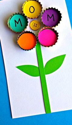 Manualidad Para El Dia De La Madre Ideas Mothers Day Cards Craft