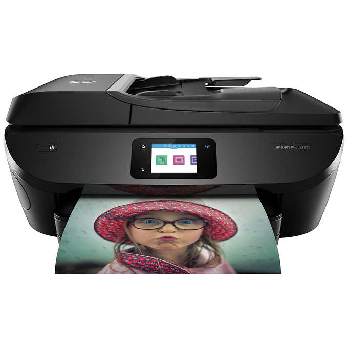 Hp Envy 7858 All In One Wireless Photo Print Scan Copy And Fax Hp Printer Wireless Printer Printer Driver