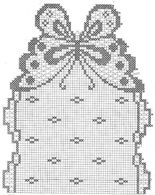 Grafico Caminho De Mesa Borboletas Em Croche File Caminho De