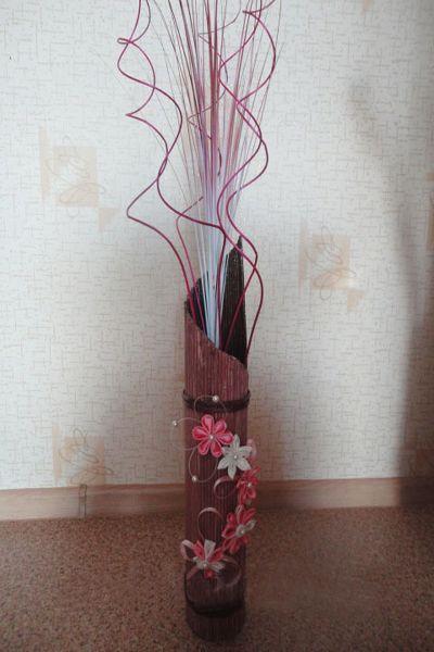 Плетение из проволоки своими руками вазы