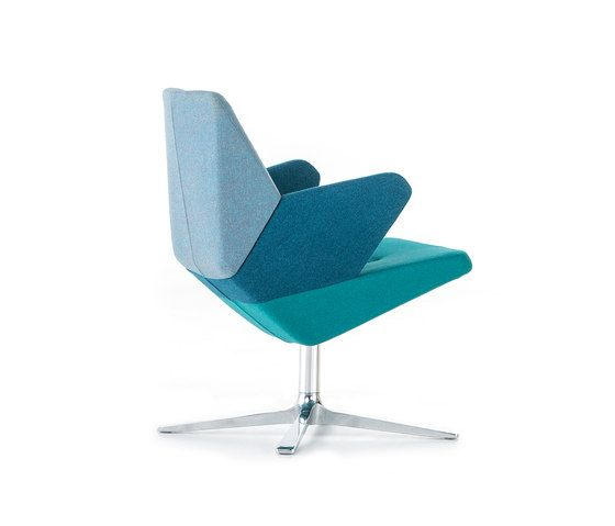 Inspirational Trifidae easy chair by Prostoria Lounge chairs furniture Pinterest Simple Elegant - Awesome modern blue chair Lovely