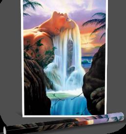 Island Dream Poster by Jim Warren