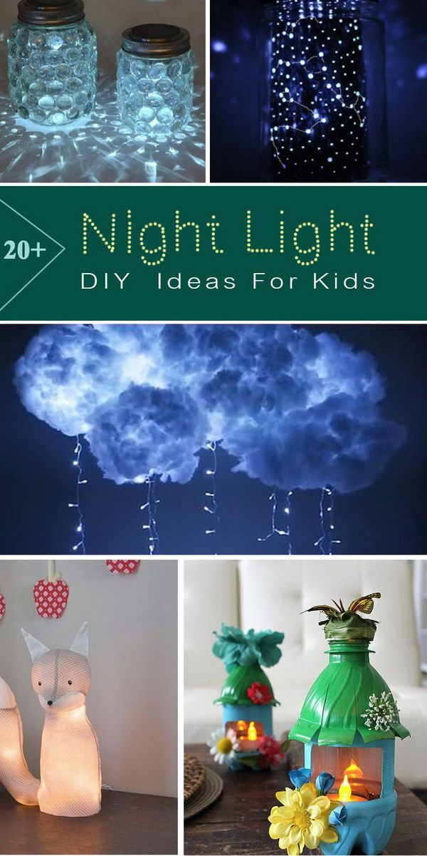 Diy Night Light Ideas For Kids Night Light Kids Diy Nursery Night Light Girl Nursery Diy
