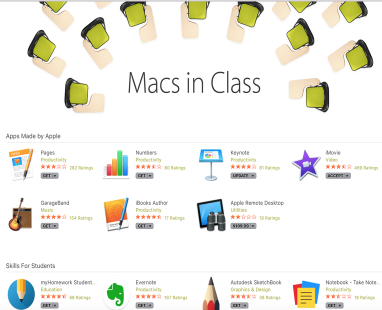 A New Compilation of Educational Mac Apps for Teachers