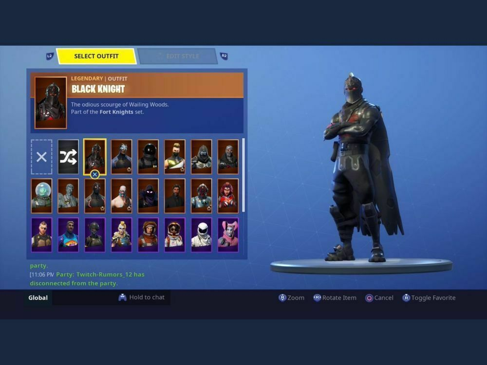 Fortnite Black Knight Account and Others + STW (READ DESCRIPTION