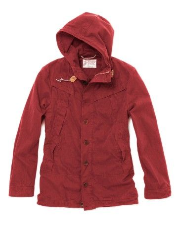 Medwinds for Man - Antibes Soft Jacket Red in Red