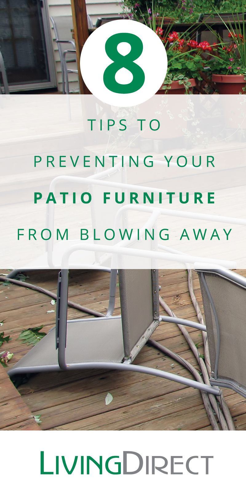 How To Keep Patio Furniture From Blowing Away.How To Keep Outdoor Furniture From Blowing Away Home Tips