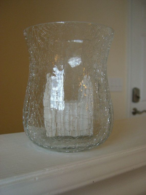 Slc Temple In Shattered Glass Vase By Creativechicks1 On Etsy