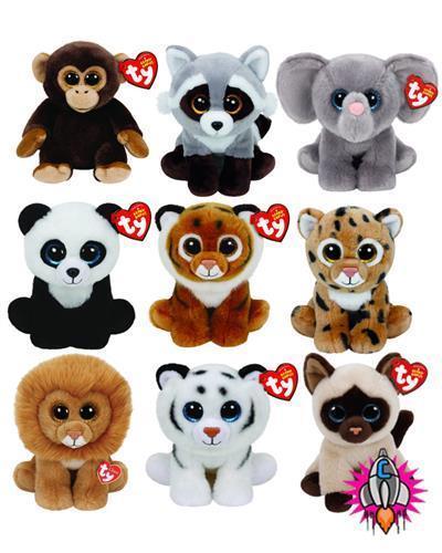 £7.95 GBP - Ty Beanie Boo Babies Plush Soft Toy Jaden Tiggs Whopper Louie  Ming Tundra  ebay  Collectibles faa5c7f52353