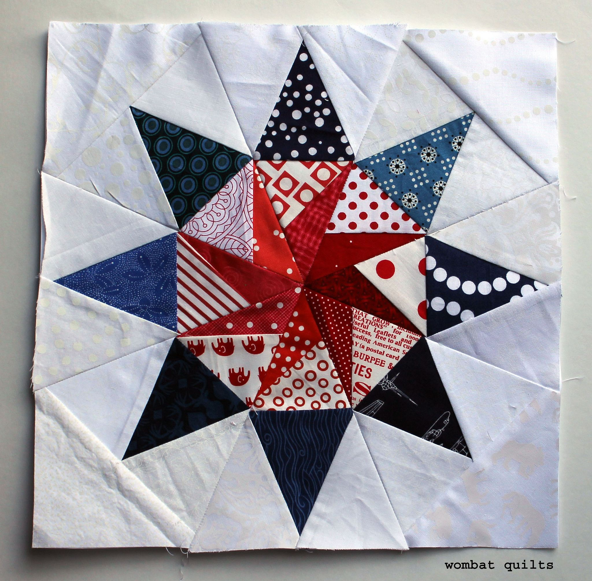 special spin block Quilts Pinterest
