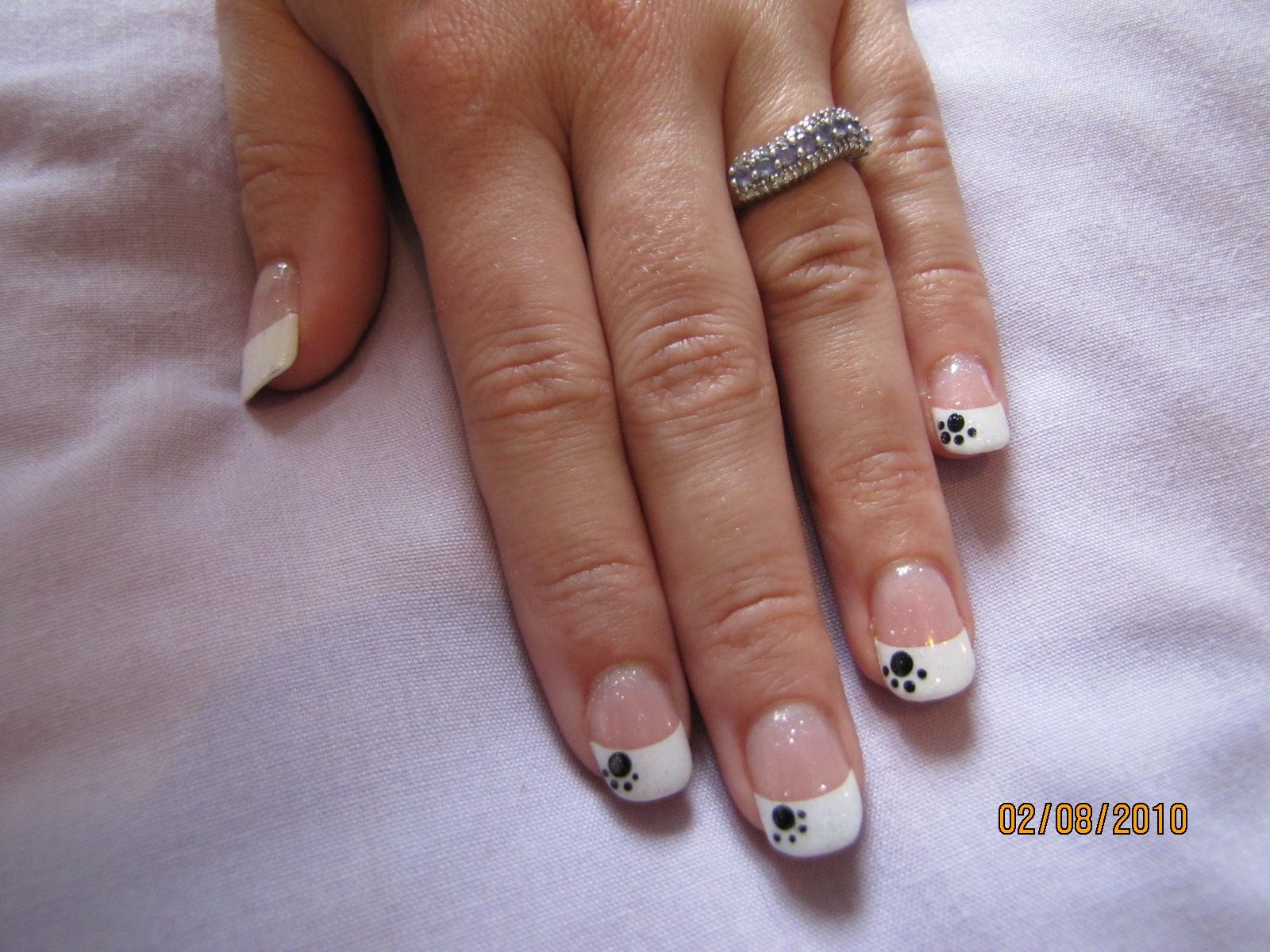 Gel Nail extensions, white tips | Nailzzzz | Pinterest | Extensions